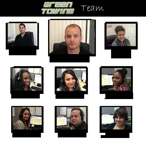 Green Towing Team Long Baech