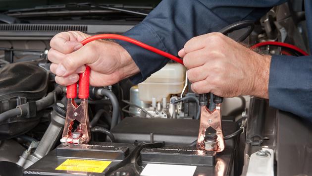 car battery jumpstart